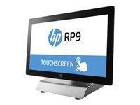 """HP RP9 G1 Retail System 9018 - tout-en-un - Core i3 6100 3.7 GHz - 4 Go - HDD 500 Go - LED 18.5"""""""