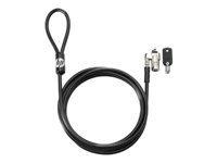 HP Keyed Cable Lock câble de sécurité