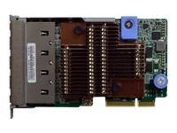 Lenovo ThinkSystem - adaptateur réseau - LAN-on-motherboard (LOM) - 10Gb Ethernet x 4