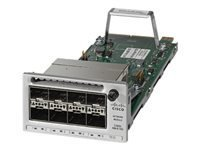 Cisco - module d'extension - 10 Gigabit SFP+ / SFP (mini-GBIC) x 8