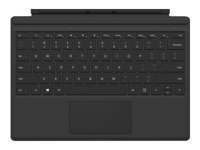 Microsoft Surface Pro Type Cover (M1725) - clavier - avec trackpad, accéléromètre - AZERTY - Français - noir