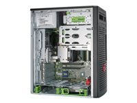 Fujitsu Celsius W580power - micro-tour - Xeon E-2174G 3.8 GHz - 16 Go - SSD 256 Go, HDD 1 To