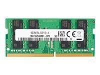 HP - DDR4 - module - 4 Go - SO DIMM 260 broches - 2666 MHz / PC4-21300 - mémoire sans tampon