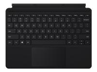 Microsoft Surface Go Type Cover - clavier - avec trackpad, accéléromètre - Français - noir