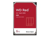 WD Red NAS Hard Drive WD60EFAX - disque dur - 6 To - SATA 6Gb/s
