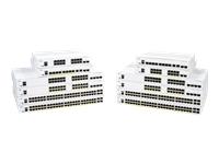 Cisco Business 250 Series 250-24FP-4X - commutateur - 24 ports - intelligent - Montable sur rack