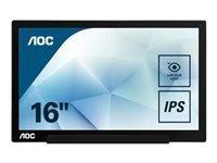 """AOC I1601FWUX - écran LED - Full HD (1080p) - 15.6"""""""