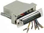 Cache câble MCAD Adaptateur DB25M / RJ45