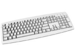 CHERRY CLAVIER STD ECO 105 TOUCHES EMBALLAGE OEM USB GRIS