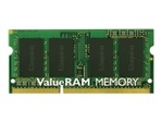 Mémoire vive PC KINGSTON Kingston ValueRAM - DDR3 - module - 4 Go - SO DIMM 204 broches - mémoire sans tampon