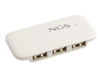 Hub & Firewire NGS NGS iHub4 - concentrateur (hub) - 4 ports