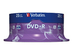 CD/DVD VERBATIM Verbatim DataLifePlus - DVD+R x 25 - 4.7 Go - support de stockage