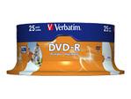 CD/DVD VERBATIM Verbatim - DVD-R x 25 - 4.7 Go - support de stockage