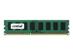 Mémoire vive PC Crucial Crucial - DDR3L - module - 4 Go - DIMM 240 broches - mémoire sans tampon