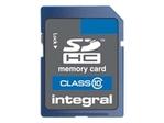 Carte mémoire INTEGRAL Integral - carte mémoire flash - 4 Go - SDHC