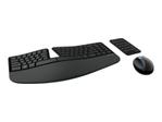Pack clavier & souris MICROSOFT Microsoft Sculpt Ergonomic Desktop - ensemble de clavier, souris et pavé numérique - Français