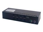 Communicat auto USB+HD15-4UC/4 Ports KVM