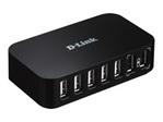 Hub & Firewire DLINK D-Link DUB H7 - concentrateur (hub) - 7 ports