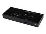 Switch vidéo StarTech.com StarTech.com Switch Matrice HDMI 2x2 avec Commutation Automatique et Prioritaire - Boîtier de Partage / Matrice HDMI 2x2 - 1080p - commutateur vidéo/audio - 2 ports
