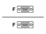 Câble et adaptateur série Seiko  Seiko câble série - 1.8 m