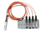 40GBASE ACTIVE OPTICAL QSFP TO