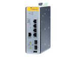 Managed Industrial switch with 2 x 100/1