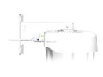 Switch gigabit Aruba Networks HPE Aruba Outdoor Pole/Wall Short Mount Kit - le kit de montage du dispositif de réseau