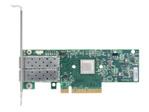Carte réseau PCI-e Mellanox Mellanox ConnectX-4 Lx EN - adaptateur réseau - PCIe 3.0 x8 - 10 Gigabit SFP+ x 2