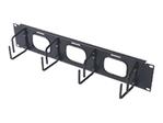 Cable Organizer/2u Horizontal Black