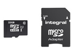 Carte mémoire INTEGRAL Integral Smartphone and Tablet - carte mémoire flash - 32 Go - microSDHC UHS-I