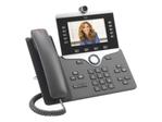 Téléphonie IP CISCO Cisco IP Phone 8845 - visiophone IP - avec appareil photo numérique, Interface Bluetooth