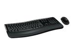 Clavier MICROSOFT Microsoft Wireless Comfort Desktop 5050 - ensemble clavier et souris - Français