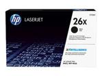 Toner HP HP 26X - à rendement élevé - noir - originale - LaserJet - cartouche de toner (CF226X)
