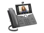 Téléphonie Sans fil CISCO Cisco IP Phone 8865 - visiophone IP - avec appareil photo numérique, Interface Bluetooth