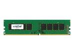 Mémoire vive PC Crucial Crucial - DDR4 - module - 16 Go - DIMM 288 broches - mémoire sans tampon