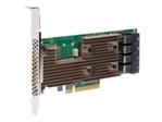 Connectique serveur BROADCOM Avago SAS 9305-16i - contrôleur de stockage - SAS 12Gb/s - PCIe 3.0 x8