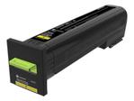 Toner LEXMARK 72K20YE CS820 CX82x CX860 - Yellow