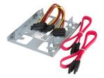 """Divers accessoires StarTech.com StarTech.com Kit de Montage pour 2 Disques Durs 2,5"""" SATA dans Baie 3,5"""" - Adaptateur DD 2,5"""" vers 3,5"""" - Bracket 3,5"""" pour HDD / SSD 2,5"""" - adaptateur pour baie de stockage"""