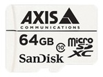 Carte mémoire AXIS AXIS Surveillance - carte mémoire flash - 64 Go - micro SDXC