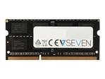 Mémoire vive petit format V7  V7 - DDR3 - module - 8 Go - SO DIMM 204 broches - 1600 MHz / PC3-12800 - mémoire sans tampon