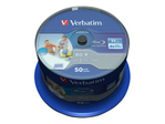 Blu-ray VERBATIM Verbatim DataLife - BD-R x 50 - 25 Go - support de stockage