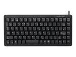 Keyboard/ES PS2+USB MiniSlim BlackRetail