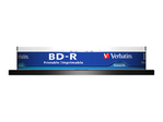 Blu-ray VERBATIM Verbatim DataLife - BD-R x 10 - 25 Go - support de stockage