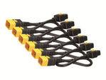 Pwr Cord Kit Locking C19 to C20 0.6m