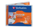CD/DVD VERBATIM Verbatim - DVD-R x 10 - 4.7 Go - support de stockage