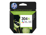 Cartouche d'encre HP HP 304XL - à rendement élevé - couleur (cyan, magenta, jaune) - originale - cartouche d'encre