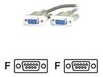 Câble VGA MCL SAMAR MCL Samar câble de modem nul - DB-9 pour DB-9 - 2 m