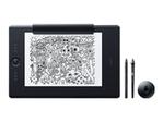 Tablette Graphique WACOM Wacom Intuos Pro Paper Edition Large - numériseur - USB, Bluetooth - noir