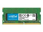Mémoire vive petit format Crucial Crucial - DDR4 - module - 4 Go - SO DIMM 260 broches - 2400 MHz / PC4-19200 - mémoire sans tampon