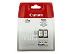 Cartouche d'encre CANON Canon PG-545 / CL-546 Multipack - pack de 2 - noir, couleur (cyan, magenta, jaune) - originale - cartouche d'encre
